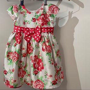 Brooke Lindsay Collection Girls Floral Dress 2T